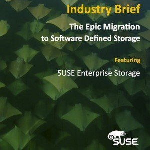 The Epic Migration to Software Defined Storage, ©IT Brand Pulse