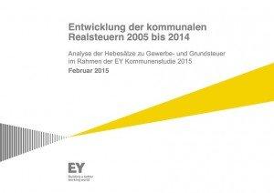 Entwicklung der kommunalen Realsteuern 2005 bis 2014, ©Ernst & Young