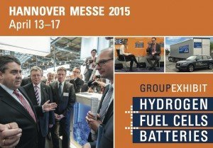 Hannover Messe: Group Exhibit Hydrogen + Fuel Cells + Batteries, ©Tobis Renz FAIR