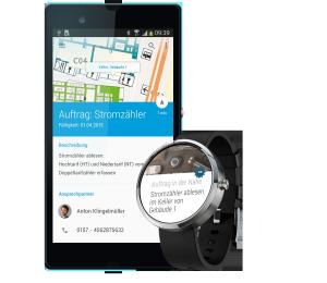 Auftragsmanagement per Smartwatch, ©Heidelberg Mobil
