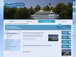 Starnberger See, © Bayerische Seenschifffahrt GmbH