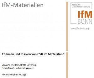 Chancen und Risiken von CSR im Mittelstand, ©IfM Bonn