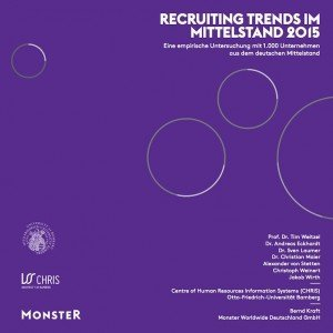 Recruiting Trends im Mittelstand 2015, © CHRIS Bamberg; Monster