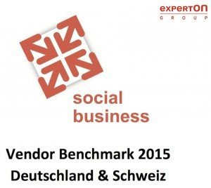 Titelseite Social Business Vendor Benchmark 2015