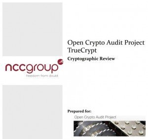 TrueCrypt-Audit, © NCC Group