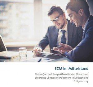 ECM im Mittelstand 2015, ©BITKOM