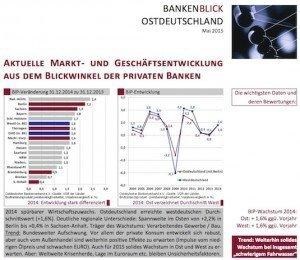 Bankenblick Ostdeutschland Mai 2015, ©Ostdeutscher Bankenverband