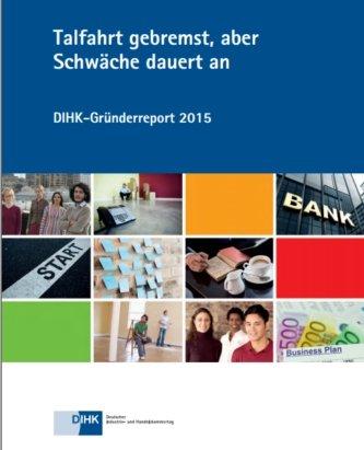 DIHK-Gründerreport 2015, © DIHK