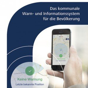 KATWARN-Broschüre, ©Fraunhofer FOKUS