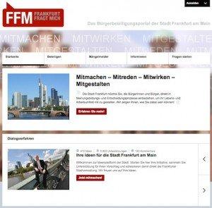 Frankfurt fragt mich, ©Stadt Frankfurt a.M.