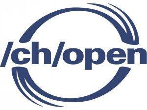 Swiss Open Systems User Group: Logo, ©/ch/open
