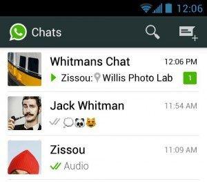 B2C-Chats mit WhatsApp, ©WhatsApp Inc.