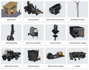 Global Village Construction Set, © Open Source Ecology