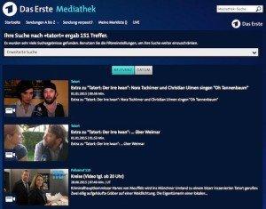 Tatort im Ersten, ©Bayerischer Rundfunk