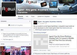 Agawi, ©Facebook Inc.