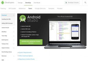 Android Studio, © Google Inc.