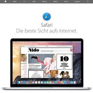 Safari, © Apple Inc.