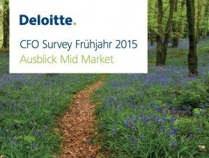 Deloitte CFO Survey Frühjahr 2015, ©Deloitte
