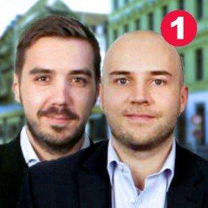 Jan Wiesmann (links), Daniel Blumberg (rechts), GF bei fitengo