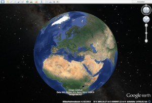 Google Earth, © Google Inc.