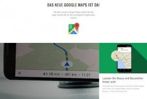Google Maps, ©Google Inc.