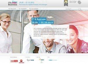 IT & Business, © Landesmesse Stuttgart GmbH