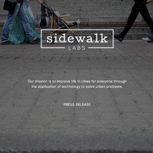 Digitale Stadtentwicklung, © Sidewalk Labs