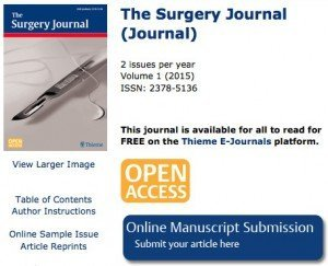 The Surgery Journal, © Thieme Medical Publishers, Inc.