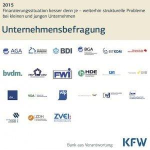 Unternehmensbefragung 2015, © KfW