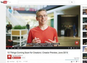 Creator Preview, © Google Inc.