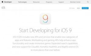 iOS 9, © Apple Inc.