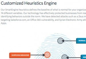 Heuristics Engine, © Adallom, Inc.