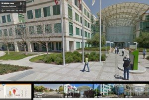Street View: Infinite Loop, Cupertino, © Google Inc.