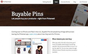 Buyable Pins, © Pinterest