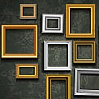 Picture frame vector. Photo art gallery, © Banana Republic – Fotolia