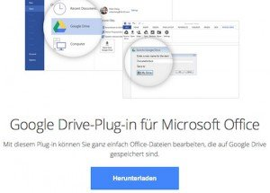 Plugin für MS Office, © Google Inc.