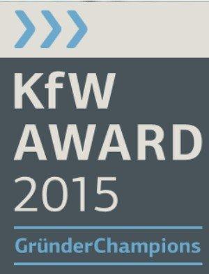 KfW-Award_2015 GründerChampion, © KfW