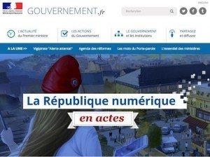 La République numérique, © Service d'information du Gouvernement