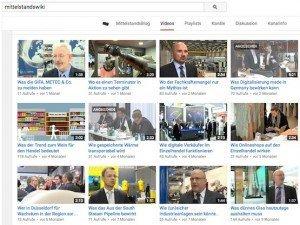 MittelstandsWiki auf YouTube, © MittelstandsWiki, YouTube