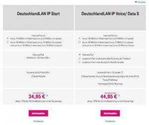 Paketvergleich, ©Deutsche Telekom AG