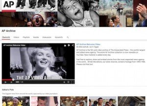 AP Archive YouTube Channel, © AP