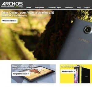 Betriebssystem zum Auswählen, ©Archos Deutschland GmbH