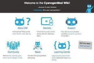 Cyanogen-Wiki, © CyanogenMod