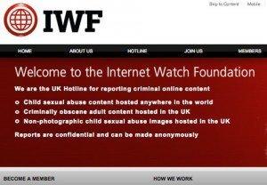 Internet Watch Foundation, ©IWF