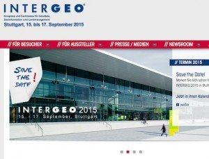Intergeo 2015,  © Hinte GmbH