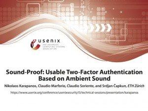 Sound-Proof, © USENIX Association