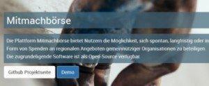 Mitmachbörse, © Fraunhofer FOKUS / Kompetenzzentrum Öffentliche IT