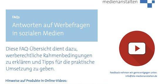 YouTube-Werbung, © die medienanstalten – ALM GbR