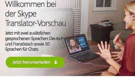 Skype Translator, © Skype und/oder Microsoft