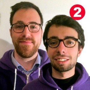 Jan Hase (CEO, links) und Arkadi Jampolski (Geschäftsführer, rechts), Wunderflats